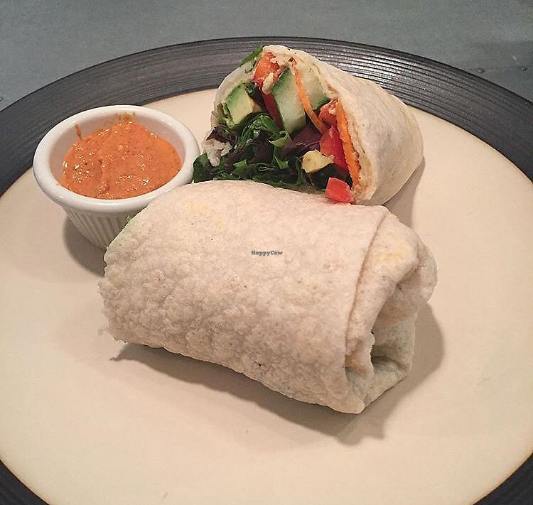 """Photo of Wildflour Bakery Cafe  by <a href=""""/members/profile/untamedvegan"""">untamedvegan</a> <br/>veggie wrap <br/> December 29, 2017  - <a href='/contact/abuse/image/101401/340633'>Report</a>"""