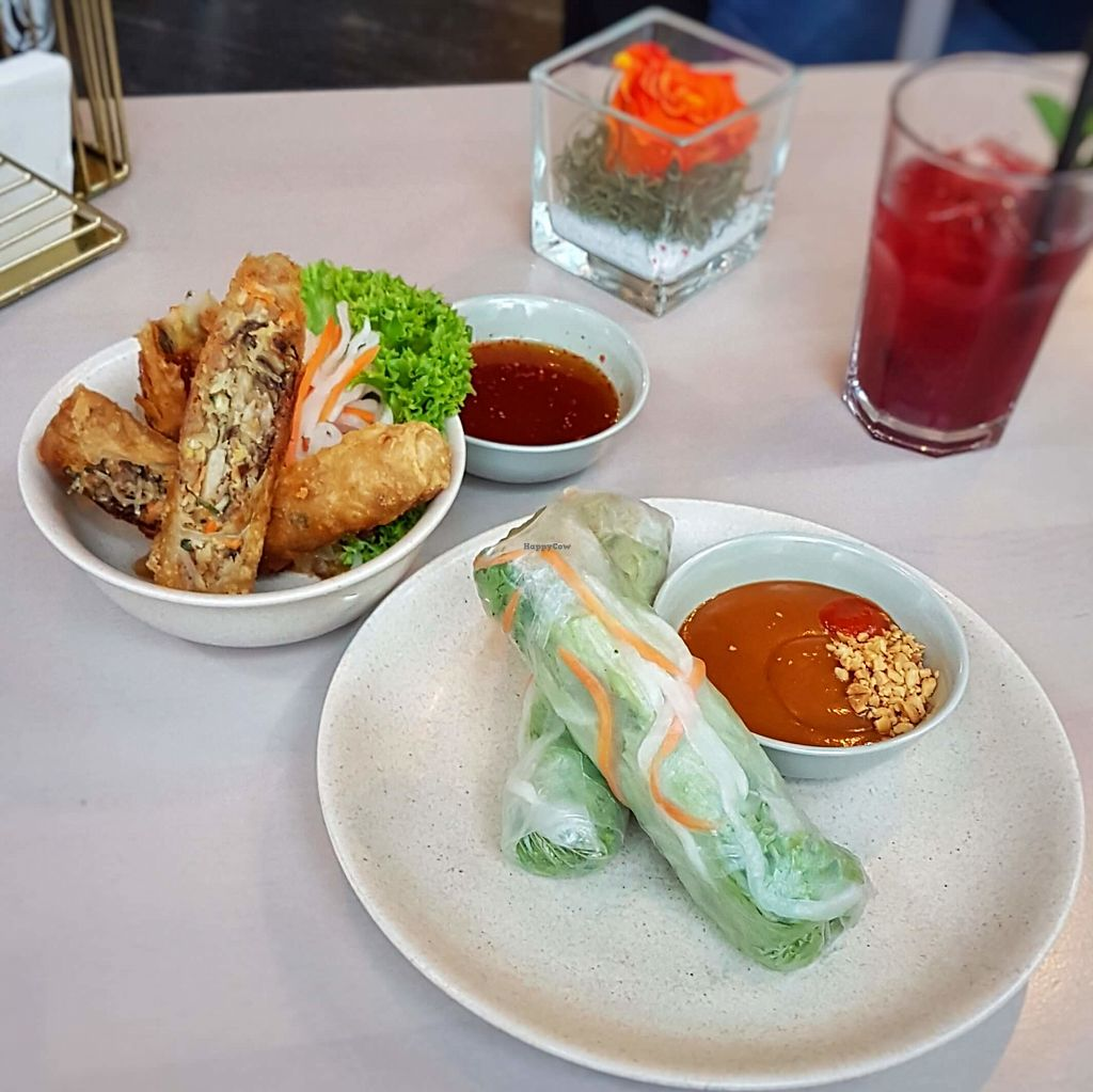 """Photo of Mivadu  by <a href=""""/members/profile/tim_green"""">tim_green</a> <br/>Vegan summer and spring rolls <br/> April 10, 2018  - <a href='/contact/abuse/image/101423/383366'>Report</a>"""