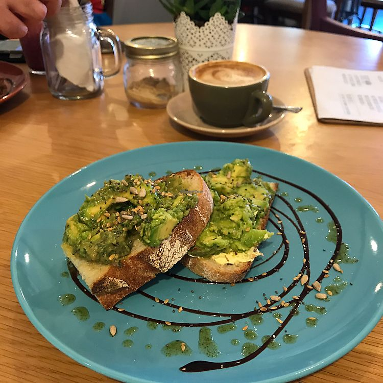 "Photo of The Wilds  by <a href=""/members/profile/ELyzab"">ELyzab</a> <br/>soy latte and avocado on sourdough.  <br/> September 25, 2017  - <a href='/contact/abuse/image/101441/308113'>Report</a>"