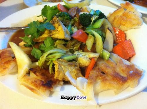 """Photo of Loving Hut  by <a href=""""/members/profile/Posi%20Britt"""">Posi Britt</a> <br/>Fried rice noodles with tofu and veggies! <br/> December 18, 2013  - <a href='/contact/abuse/image/10147/60505'>Report</a>"""