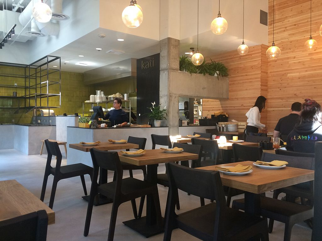 "Photo of Kati Vegan Thai  by <a href=""/members/profile/fullbellyhappyheart"">fullbellyhappyheart</a> <br/>Beautiful modern interior of Kati <br/> September 24, 2017  - <a href='/contact/abuse/image/101505/307891'>Report</a>"