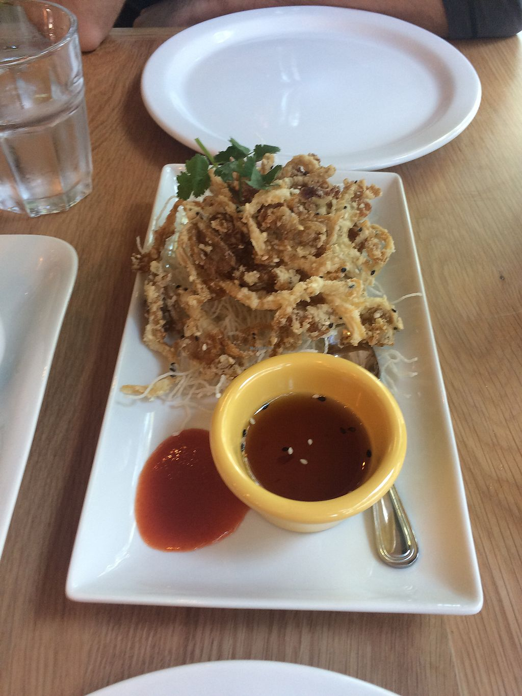 "Photo of Kati Vegan Thai  by <a href=""/members/profile/fullbellyhappyheart"">fullbellyhappyheart</a> <br/>Angel wings (like mushroom calamari) <br/> September 24, 2017  - <a href='/contact/abuse/image/101505/307893'>Report</a>"