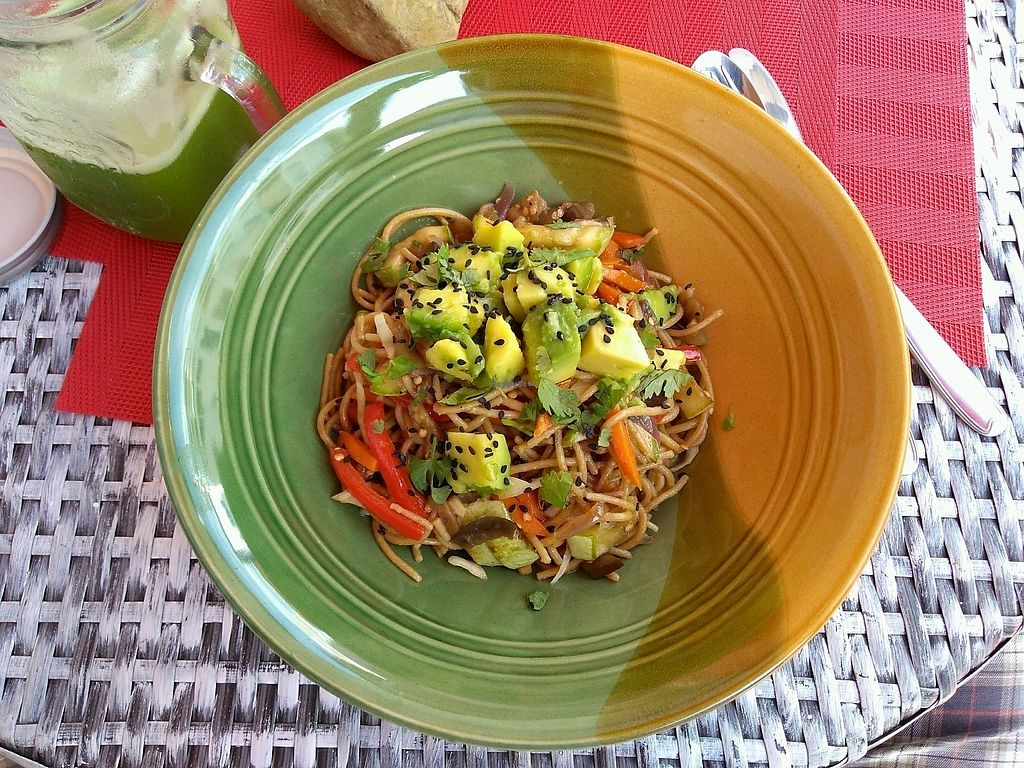 "Photo of Juana la Loca  by <a href=""/members/profile/marcobonisan"">marcobonisan</a> <br/>Quinoa spaghetti with vegetables <br/> March 5, 2018  - <a href='/contact/abuse/image/101528/367184'>Report</a>"