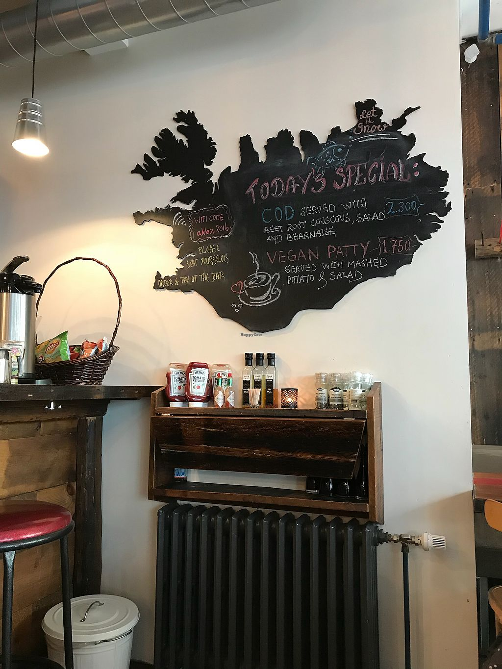 """Photo of Akureyri Backpackers  by <a href=""""/members/profile/docholiday"""">docholiday</a> <br/>Akureyri Backpacker- fine food at reasonable prices and friendly service <br/> March 30, 2018  - <a href='/contact/abuse/image/101568/378270'>Report</a>"""