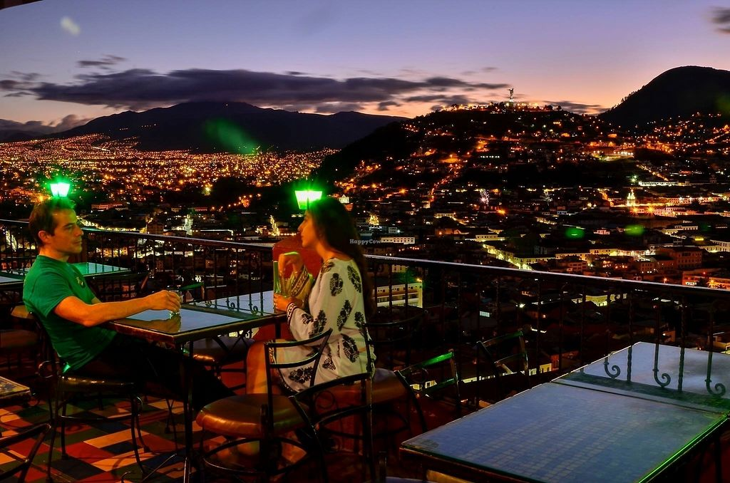 """Photo of Cafe Mosaico  by <a href=""""/members/profile/DianaGodoy"""">DianaGodoy</a> <br/>Cafe Mosaico has the best view in Quito <br/> September 25, 2017  - <a href='/contact/abuse/image/101578/308085'>Report</a>"""