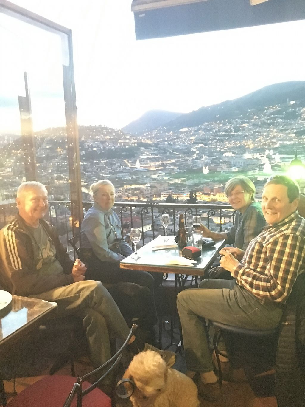 """Photo of Cafe Mosaico  by <a href=""""/members/profile/DianaGodoy"""">DianaGodoy</a> <br/>Enjoy the most spectacular sunset <br/> September 25, 2017  - <a href='/contact/abuse/image/101578/308086'>Report</a>"""