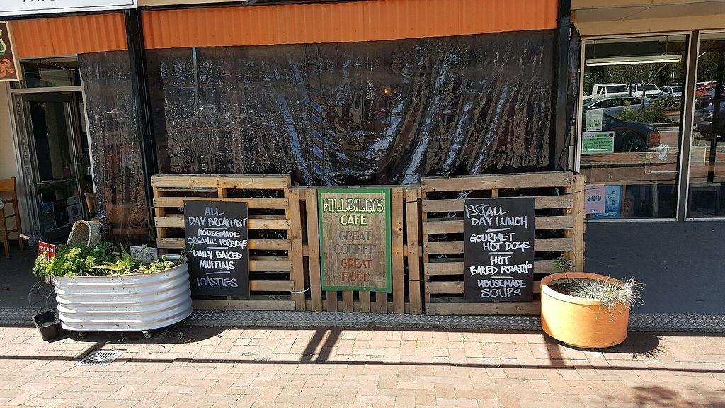 """Photo of Hillbilly's Cafe  by <a href=""""/members/profile/waktool"""">waktool</a> <br/>Front <br/> October 7, 2017  - <a href='/contact/abuse/image/101596/312547'>Report</a>"""