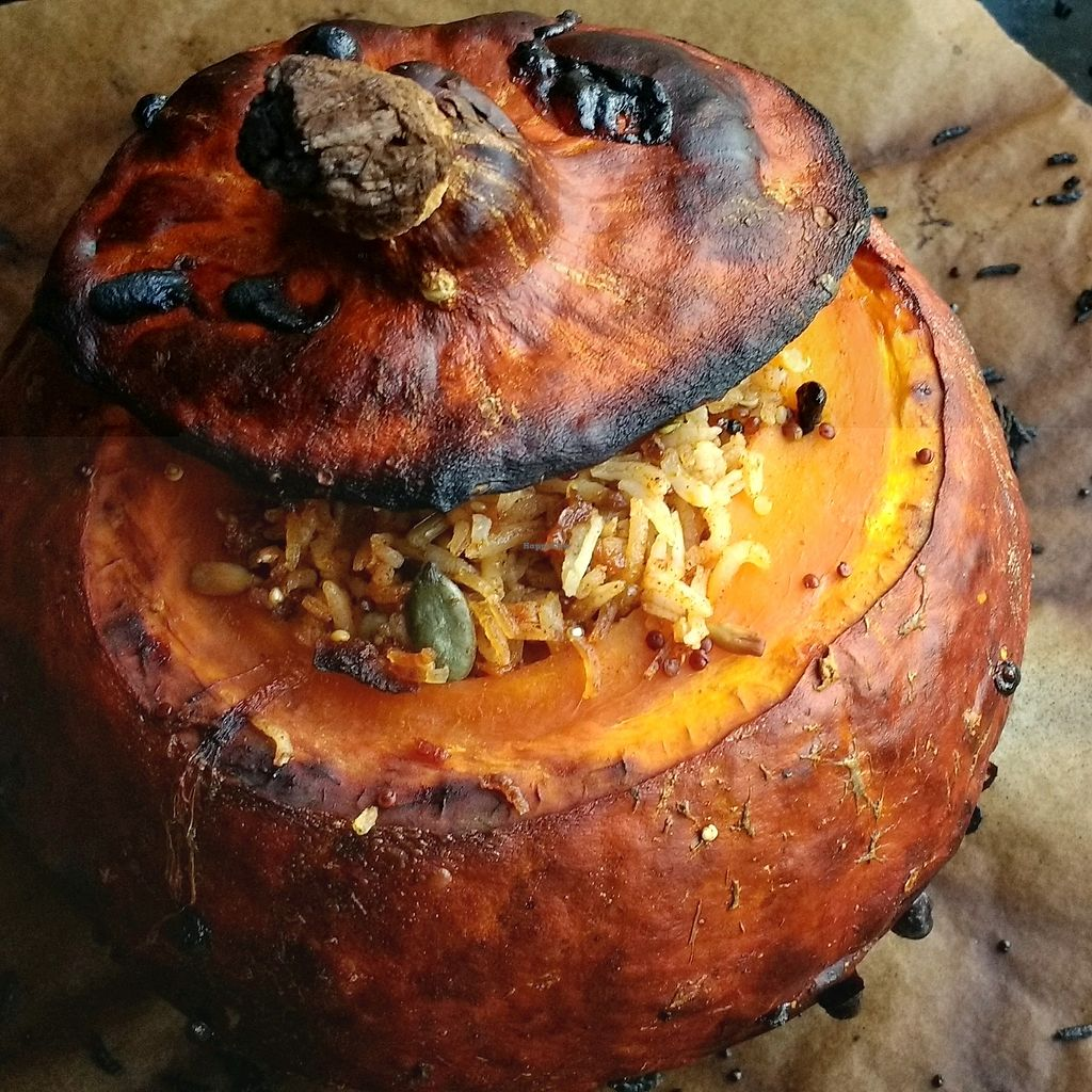 """Photo of CareEat away  by <a href=""""/members/profile/erez"""">erez</a> <br/>baked pumpkin with rice and nuts <br/> September 25, 2017  - <a href='/contact/abuse/image/101598/308196'>Report</a>"""