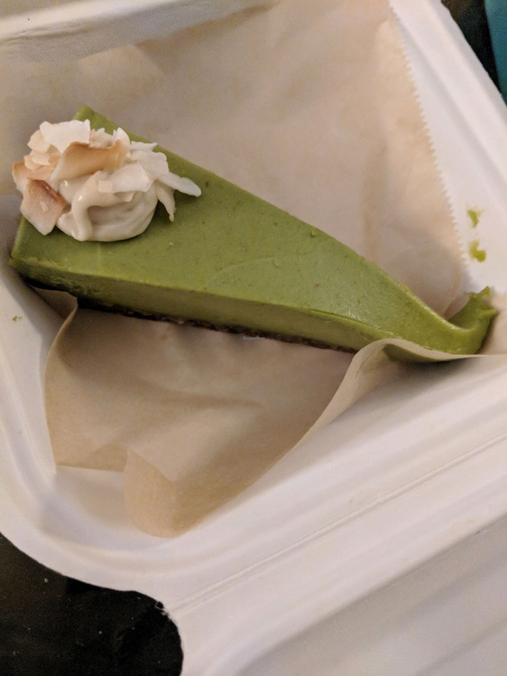"""Photo of Vgan Kitchen  by <a href=""""/members/profile/Shiru"""">Shiru</a> <br/>key lime cheesecake <br/> December 24, 2017  - <a href='/contact/abuse/image/101657/338573'>Report</a>"""