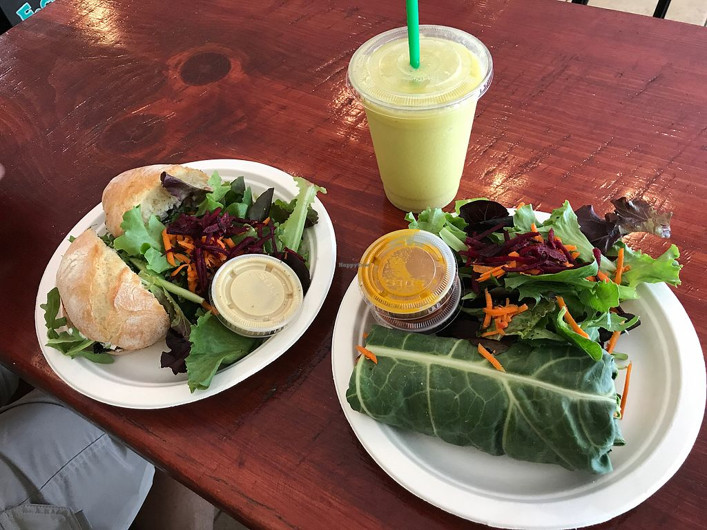 "Photo of Blended Choice  by <a href=""/members/profile/gogiants%21"">gogiants!</a> <br/>The best smoothie options veg gf roll <br/> September 26, 2017  - <a href='/contact/abuse/image/101665/308756'>Report</a>"