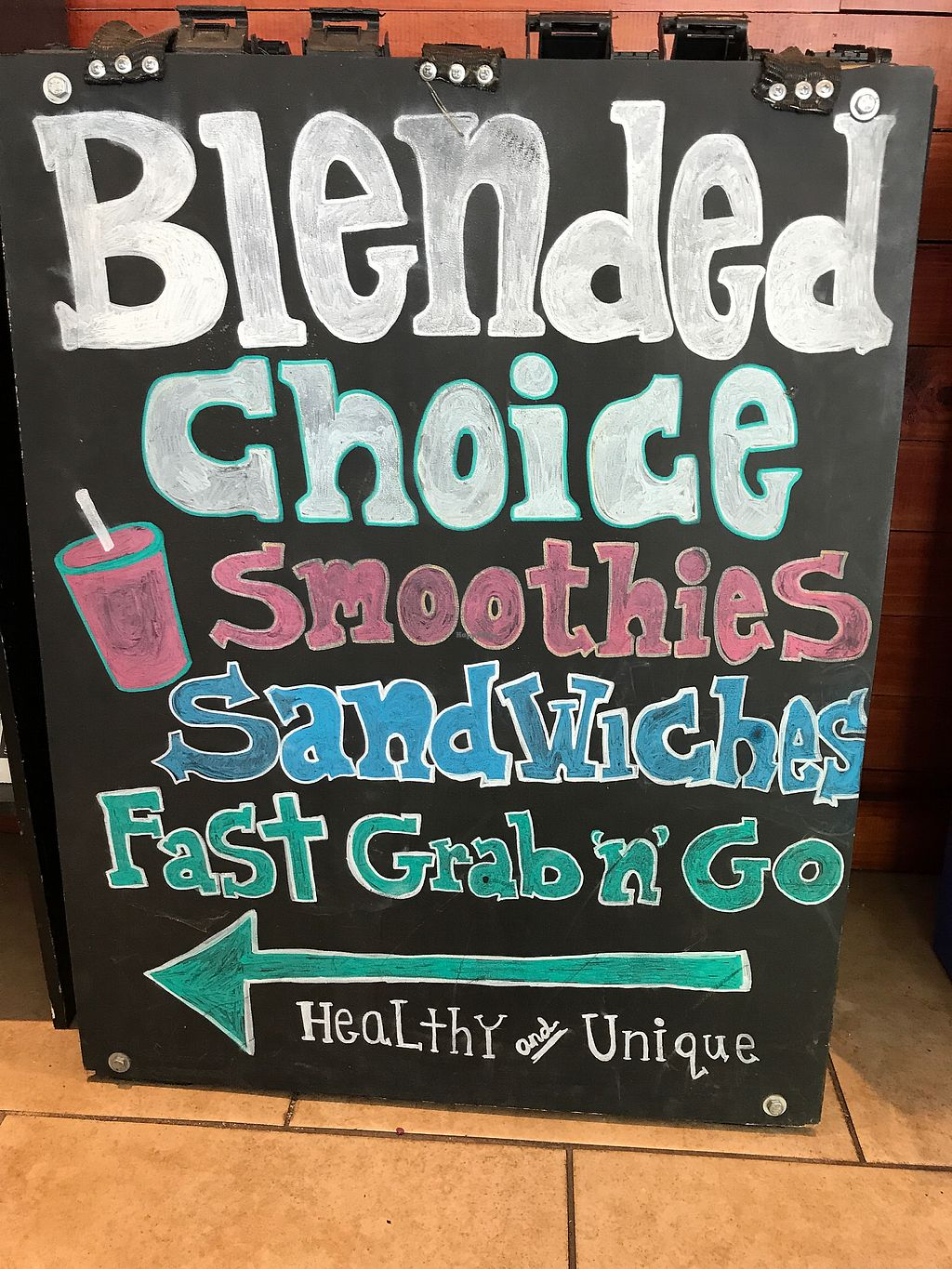 "Photo of Blended Choice  by <a href=""/members/profile/gogiants%21"">gogiants!</a> <br/>Food to go  <br/> September 26, 2017  - <a href='/contact/abuse/image/101665/308758'>Report</a>"