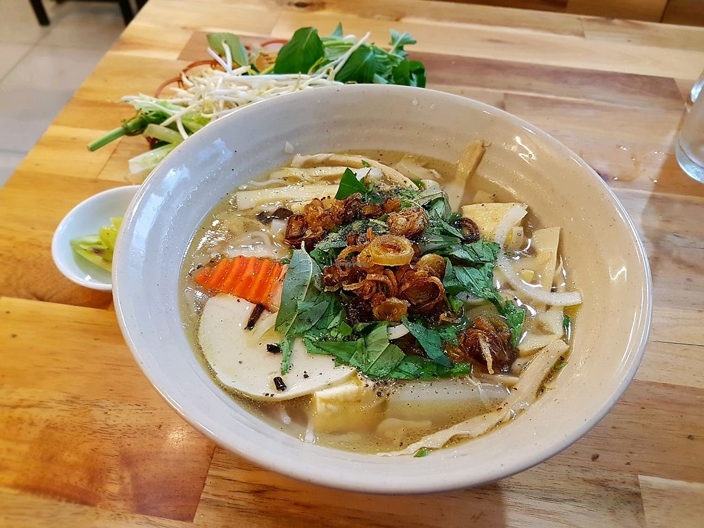 """Photo of Thanh Khiet - Am Thuc Chay  by <a href=""""/members/profile/PeterRichards"""">PeterRichards</a> <br/>bamboo noodle soup <br/> September 26, 2017  - <a href='/contact/abuse/image/101680/308540'>Report</a>"""