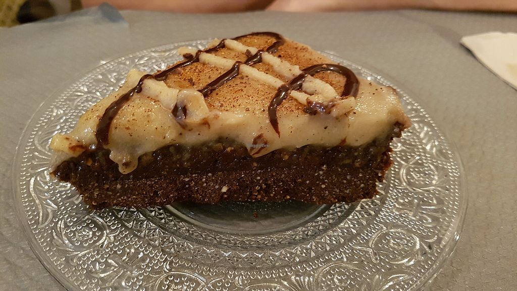 """Photo of Douceurs Vegetales  by <a href=""""/members/profile/JonJon"""">JonJon</a> <br/>Raw cake: chocolate, hazelnut and vanilla <br/> September 29, 2017  - <a href='/contact/abuse/image/101686/309643'>Report</a>"""