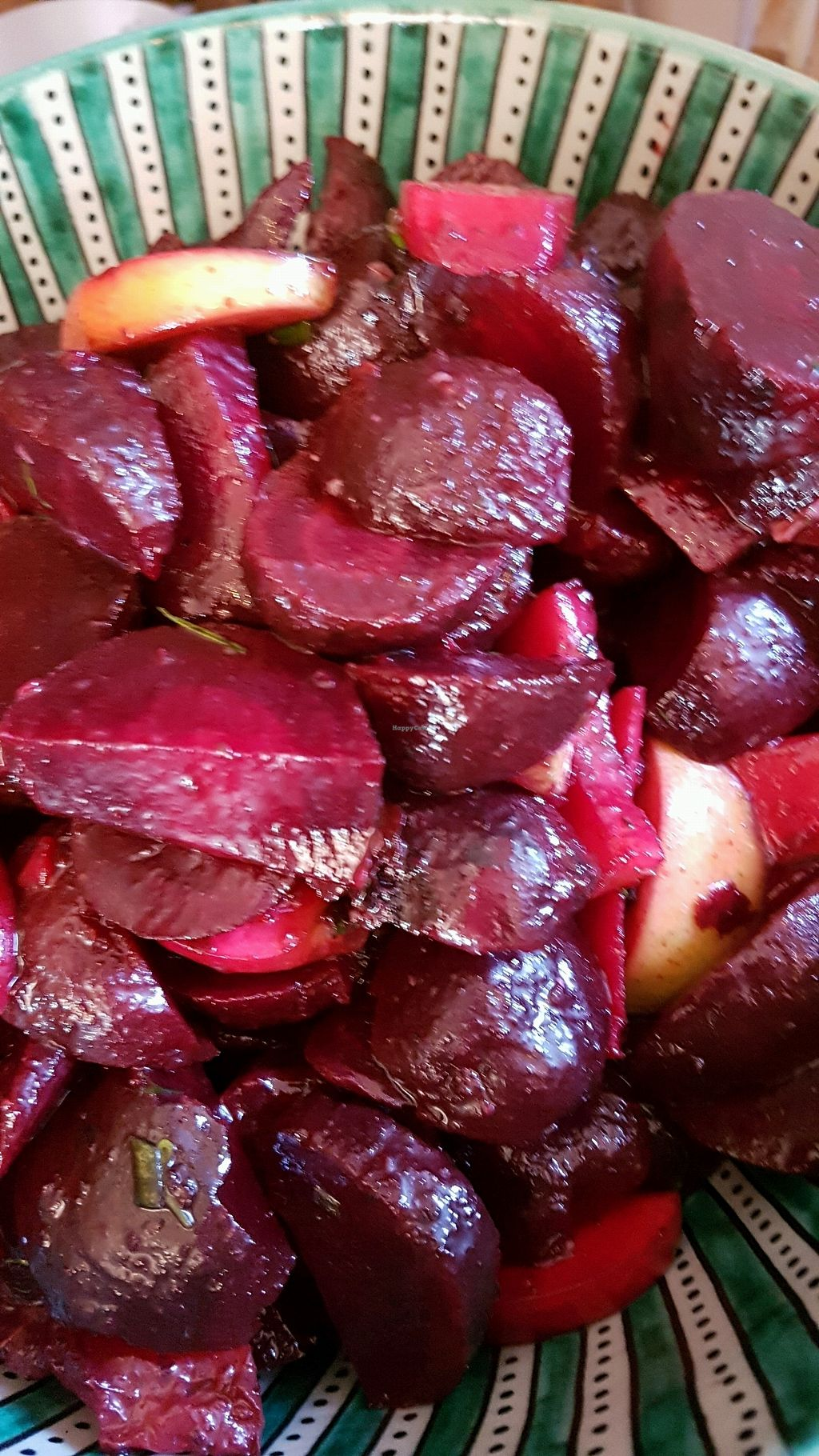 """Photo of Lior's Kitchen at Tierra Verde  by <a href=""""/members/profile/LiorBerman"""">LiorBerman</a> <br/>beetroot and Apple salad ? <br/> September 27, 2017  - <a href='/contact/abuse/image/101716/309166'>Report</a>"""