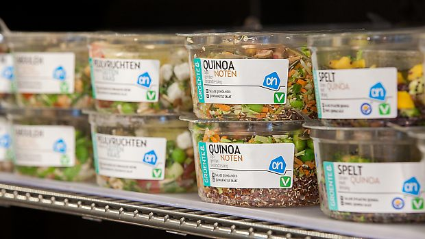 "Photo of Albert Heijn  by <a href=""/members/profile/VeganCrush"">VeganCrush</a> <br/>Quinoa Salad <br/> September 27, 2017  - <a href='/contact/abuse/image/101743/308985'>Report</a>"
