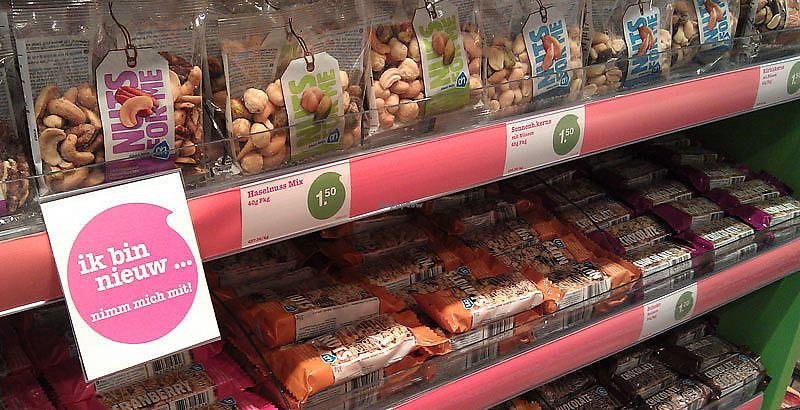 "Photo of Albert Heijn  by <a href=""/members/profile/VeganCrush"">VeganCrush</a> <br/>Snacks, Nuts and Bars <br/> September 27, 2017  - <a href='/contact/abuse/image/101743/308986'>Report</a>"