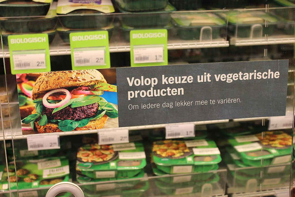 "Photo of Albert Heijn  by <a href=""/members/profile/VeganCrush"">VeganCrush</a> <br/>Vegan Meat Substitutes  <br/> September 27, 2017  - <a href='/contact/abuse/image/101743/308991'>Report</a>"