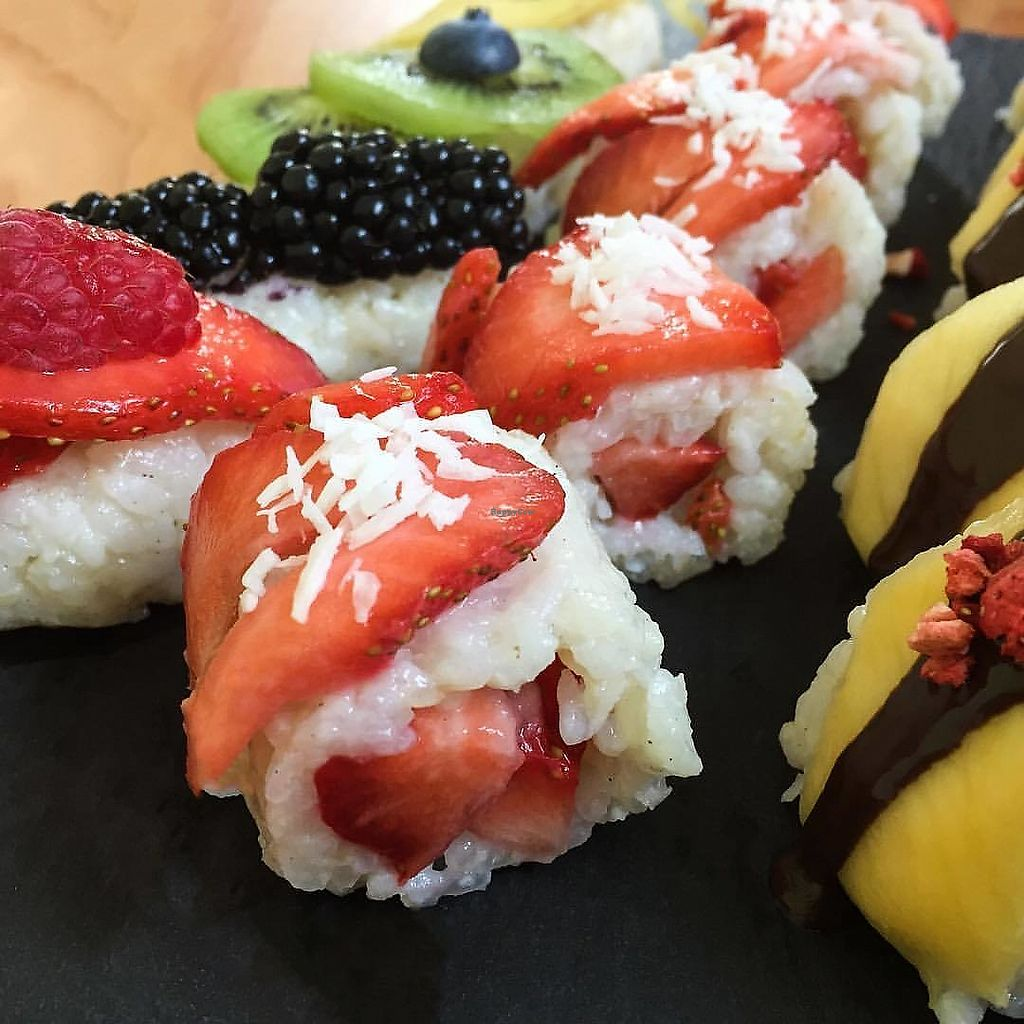 """Photo of Frushi  by <a href=""""/members/profile/Bettina"""">Bettina</a> <br/>Fruit sushi <br/> September 27, 2017  - <a href='/contact/abuse/image/101776/309001'>Report</a>"""