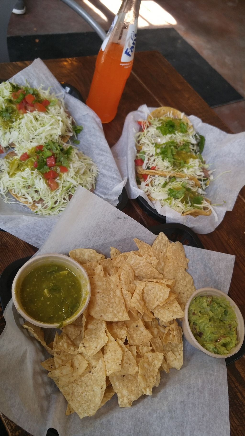 "Photo of Spanglish  by <a href=""/members/profile/bms2120"">bms2120</a> <br/>Chips with salsa verde and guacamole
