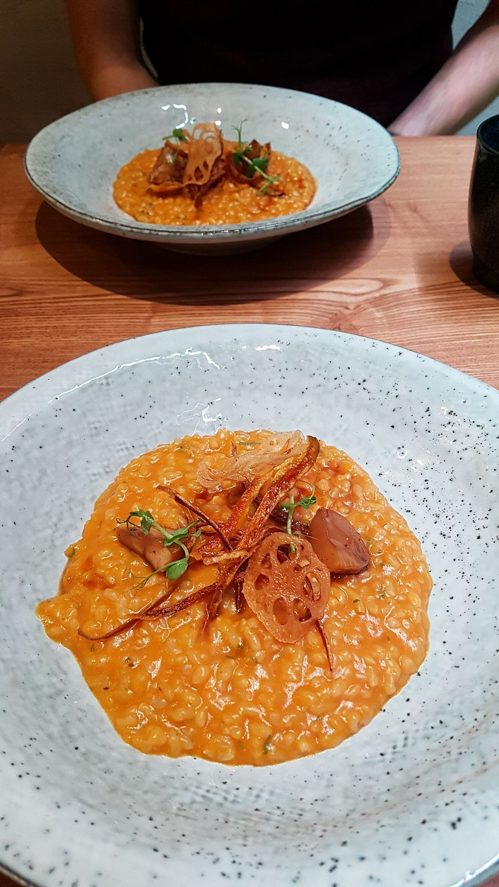 "Photo of Naturalead  by <a href=""/members/profile/SomethingVegan"">SomethingVegan</a> <br/>Pumpkin risotto <br/> January 1, 2018  - <a href='/contact/abuse/image/101801/341764'>Report</a>"