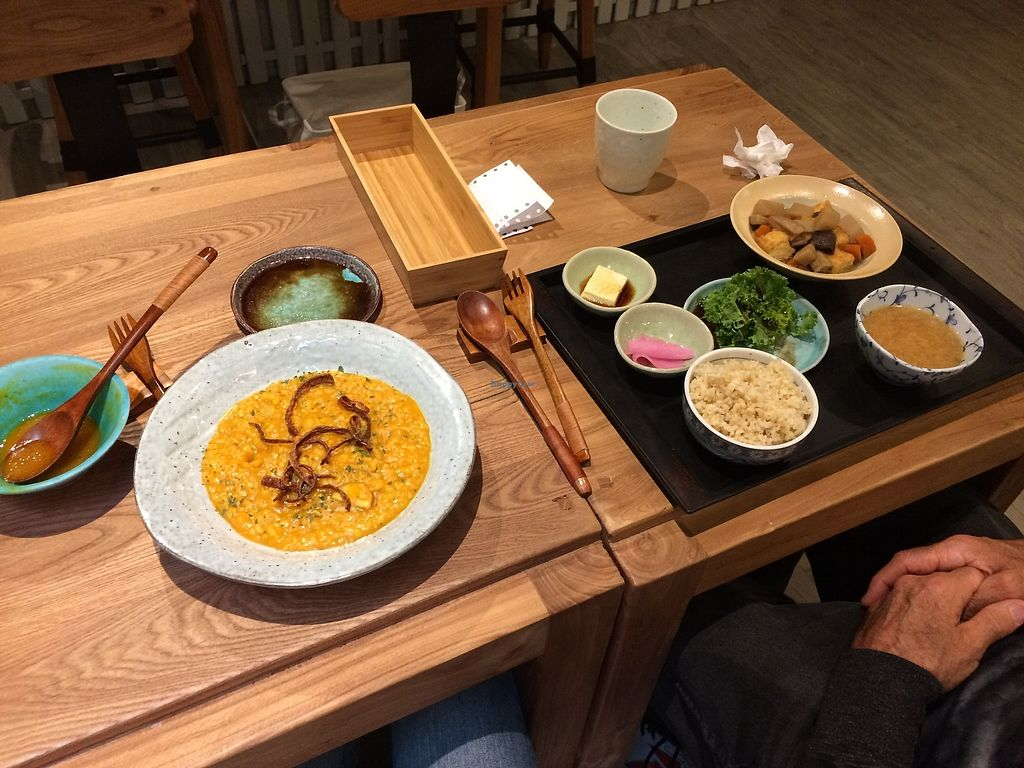 "Photo of Naturalead  by <a href=""/members/profile/Traceykeller1205"">Traceykeller1205</a> <br/>Pumpkin risotto and Japanese set dinner <br/> February 15, 2018  - <a href='/contact/abuse/image/101801/359627'>Report</a>"