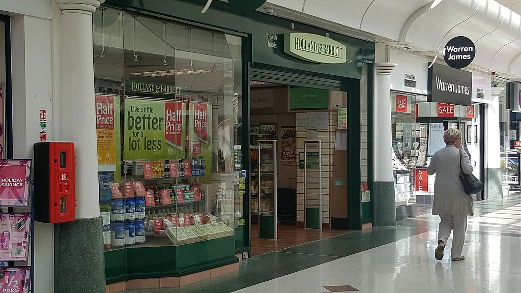 """Photo of Holland & Barrett  by <a href=""""/members/profile/Clare"""">Clare</a> <br/>Store front <br/> September 28, 2017  - <a href='/contact/abuse/image/101812/309358'>Report</a>"""