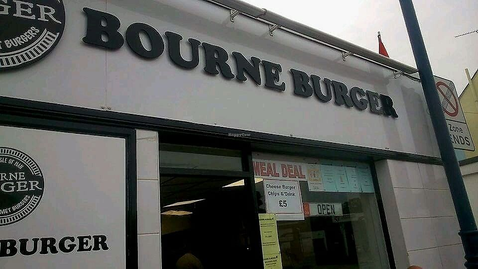 """Photo of Bourne Burger  by <a href=""""/members/profile/Mandiebythesea"""">Mandiebythesea</a> <br/>shop front <br/> September 27, 2017  - <a href='/contact/abuse/image/101823/309111'>Report</a>"""