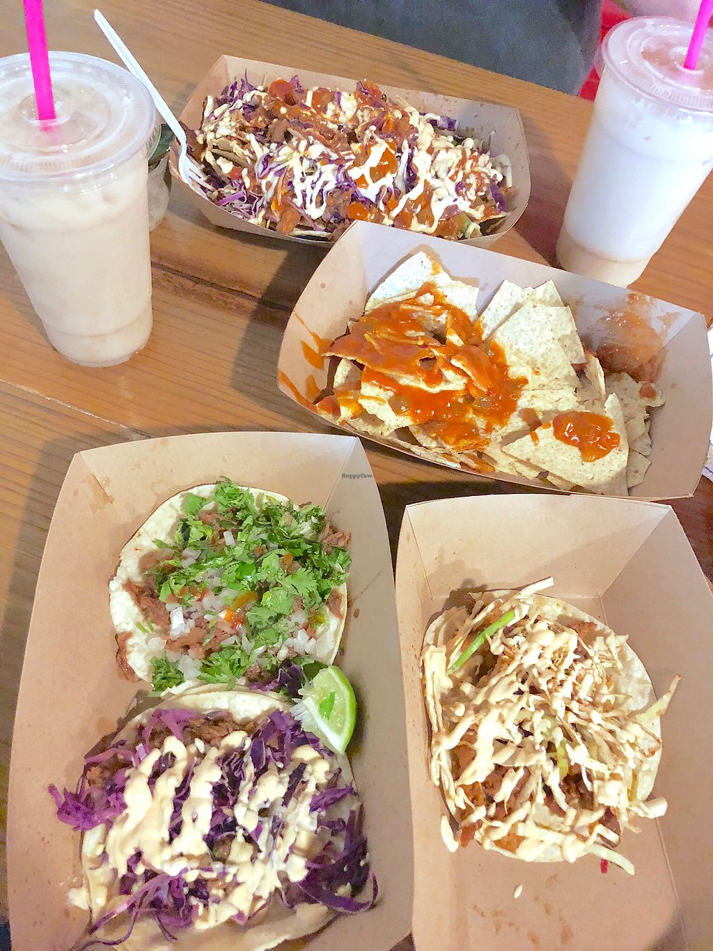 """Photo of Viva Vegan  by <a href=""""/members/profile/heather.m.barrios"""">heather.m.barrios</a> <br/>All the tacos and loaded nachos!! <br/> February 17, 2018  - <a href='/contact/abuse/image/101850/360213'>Report</a>"""