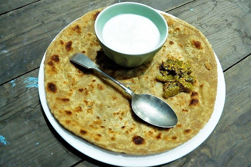 """Photo of Mr Singh's Brunch Club  by <a href=""""/members/profile/Kookie"""">Kookie</a> <br/>Parantha   For any Mr or Mrs Singh, Parantha's are the ultimate brunch dish.  If mum was making them you would be there in a flash.  A type of pan cooked flatbread to be enjoyed either on its own or stuffed.  We recommend 2-3 depending on how hungry you are.  Made with fresh, handcooked dough, lightly spiced or stuffed.   <br/> September 30, 2017  - <a href='/contact/abuse/image/101852/310174'>Report</a>"""