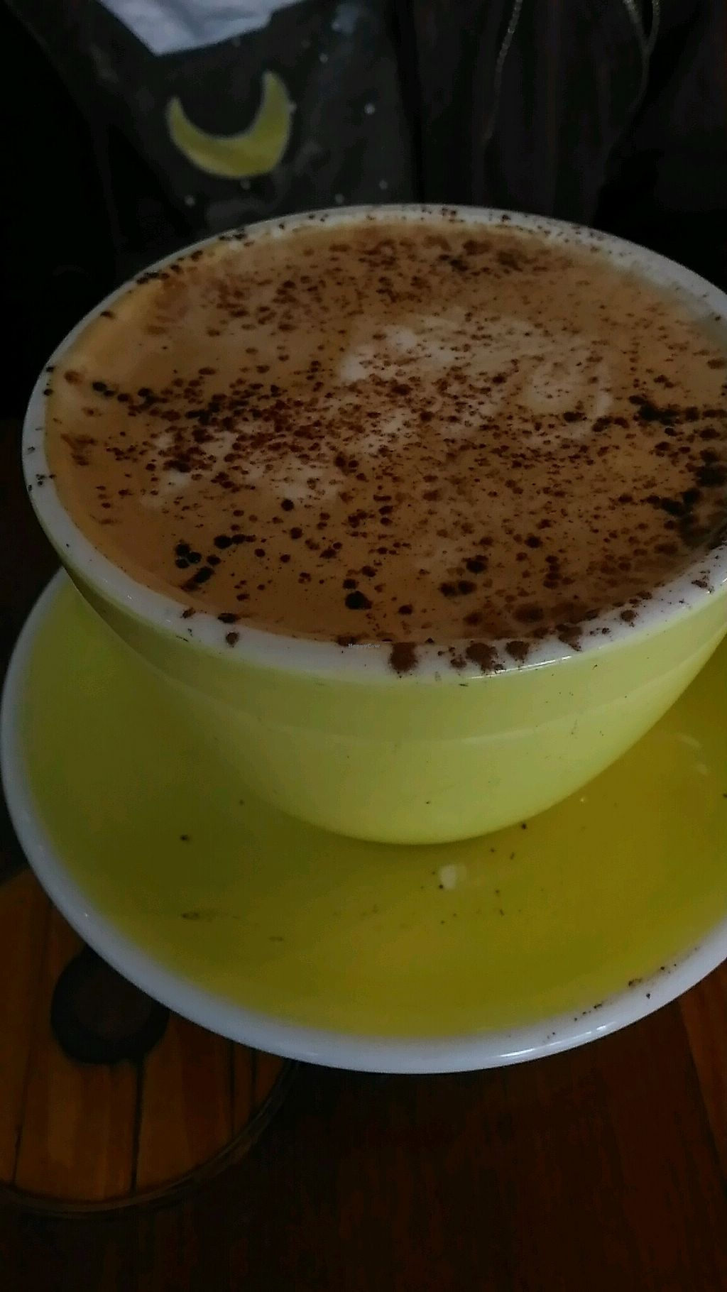 """Photo of Lucky Penny Coffee  by <a href=""""/members/profile/QuothTheRaven"""">QuothTheRaven</a> <br/>soy mocha <br/> September 28, 2017  - <a href='/contact/abuse/image/101859/309368'>Report</a>"""