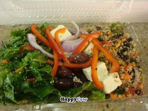 """Photo of The Health Nuts Deli - East Side Midtown  by <a href=""""/members/profile/Sonja%20and%20Dirk"""">Sonja and Dirk</a> <br/>salads <br/> July 21, 2013  - <a href='/contact/abuse/image/10186/51823'>Report</a>"""