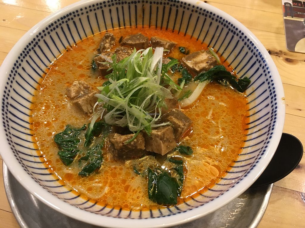 """Photo of Crafty Ramen  by <a href=""""/members/profile/Cat_Mamma"""">Cat_Mamma</a> <br/>Vegan Tofu mapo (I wouldn't call it very spicy. More like perfectly spicy!) <br/> November 24, 2017  - <a href='/contact/abuse/image/101881/328826'>Report</a>"""