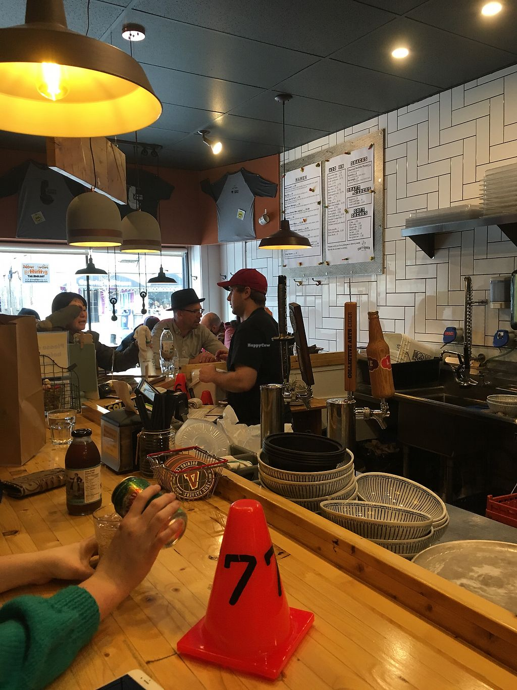 """Photo of Crafty Ramen  by <a href=""""/members/profile/Cat_Mamma"""">Cat_Mamma</a> <br/>They have """"bar seating"""" and some other spots around the exterior <br/> November 24, 2017  - <a href='/contact/abuse/image/101881/328830'>Report</a>"""