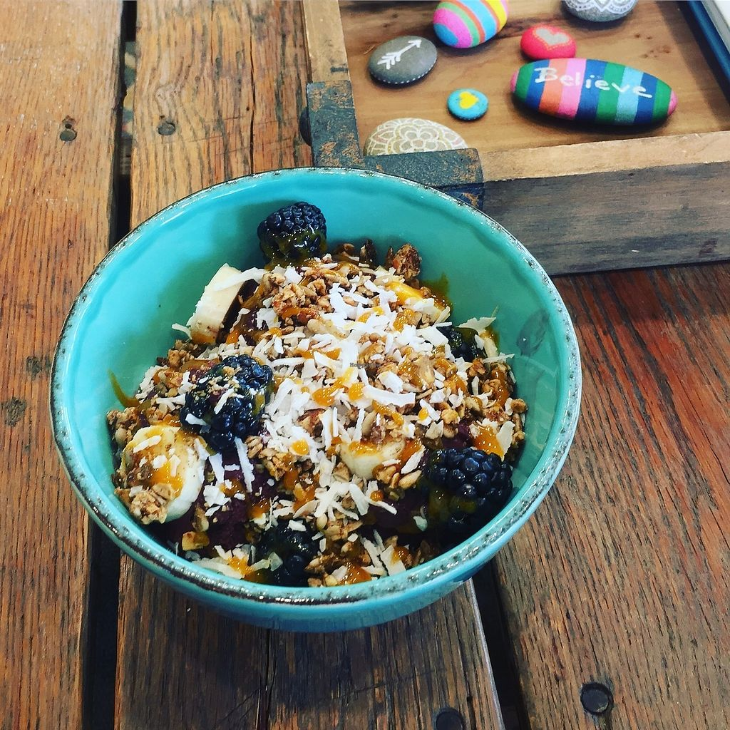 """Photo of Revel - Kombucha Bar  by <a href=""""/members/profile/stokes32"""">stokes32</a> <br/>Acai Bowl <br/> September 29, 2017  - <a href='/contact/abuse/image/101883/309812'>Report</a>"""