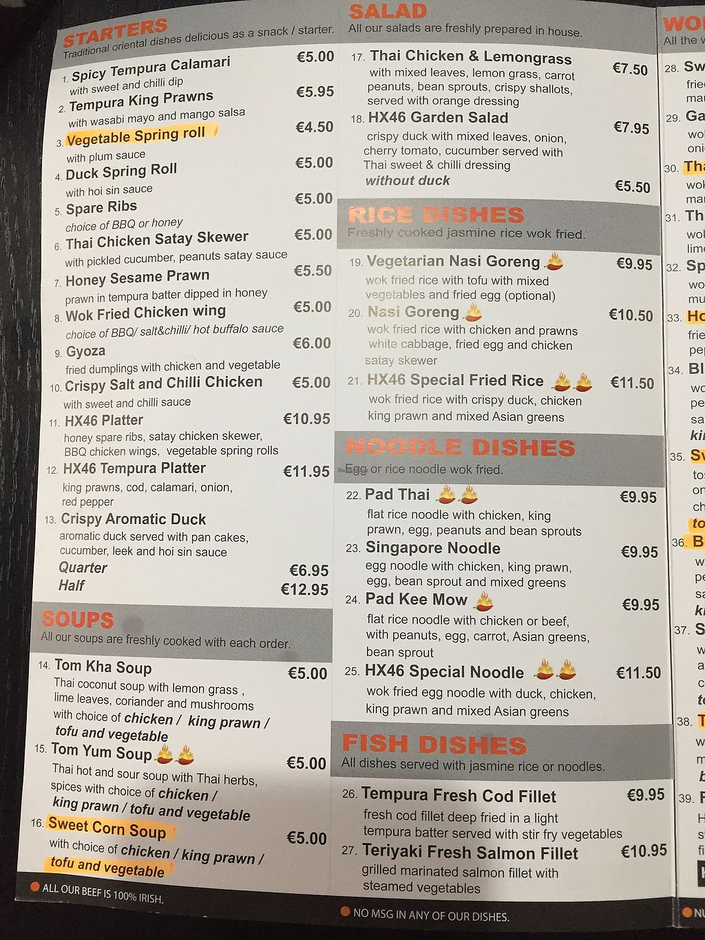 """Photo of Hx46 Cafe  by <a href=""""/members/profile/lmd06"""">lmd06</a> <br/>Menu 1 <br/> September 29, 2017  - <a href='/contact/abuse/image/101903/309651'>Report</a>"""