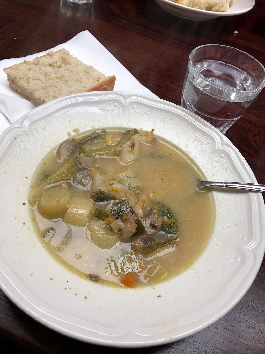 "Photo of The Settlement Center Restaurant  by <a href=""/members/profile/Banana%20Buzzbomb"">Banana Buzzbomb</a> <br/>Most delicious soup we've ever had - It's vegan! <br/> September 29, 2017  - <a href='/contact/abuse/image/101905/309707'>Report</a>"