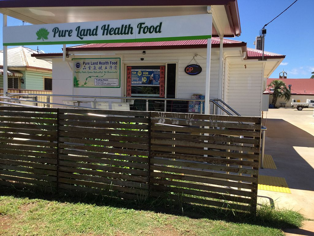 """Photo of Pure Land Health Food  by <a href=""""/members/profile/Mike%20Munsie"""">Mike Munsie</a> <br/>shop front <br/> March 15, 2018  - <a href='/contact/abuse/image/101939/370856'>Report</a>"""