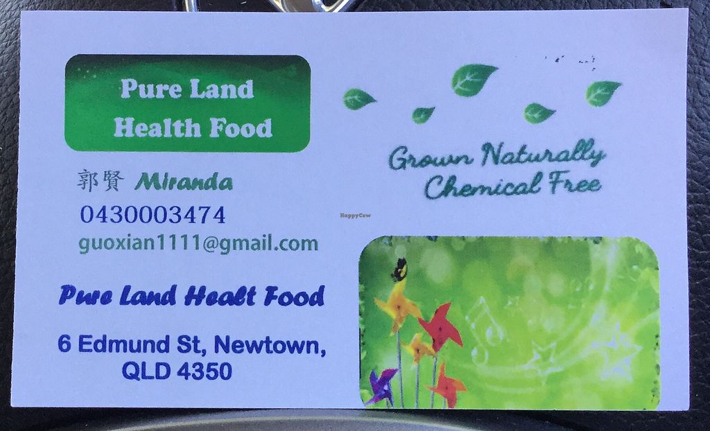"""Photo of Pure Land Health Food  by <a href=""""/members/profile/Mike%20Munsie"""">Mike Munsie</a> <br/>contact details <br/> March 15, 2018  - <a href='/contact/abuse/image/101939/370857'>Report</a>"""