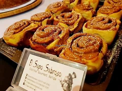 "Photo of Mercado Organico  by <a href=""/members/profile/YanethGris"">YanethGris</a> <br/>On some Saturday's you can find vegan cinnamon rolls with El Sapo Sabroso.  <br/> November 1, 2017  - <a href='/contact/abuse/image/101949/320683'>Report</a>"