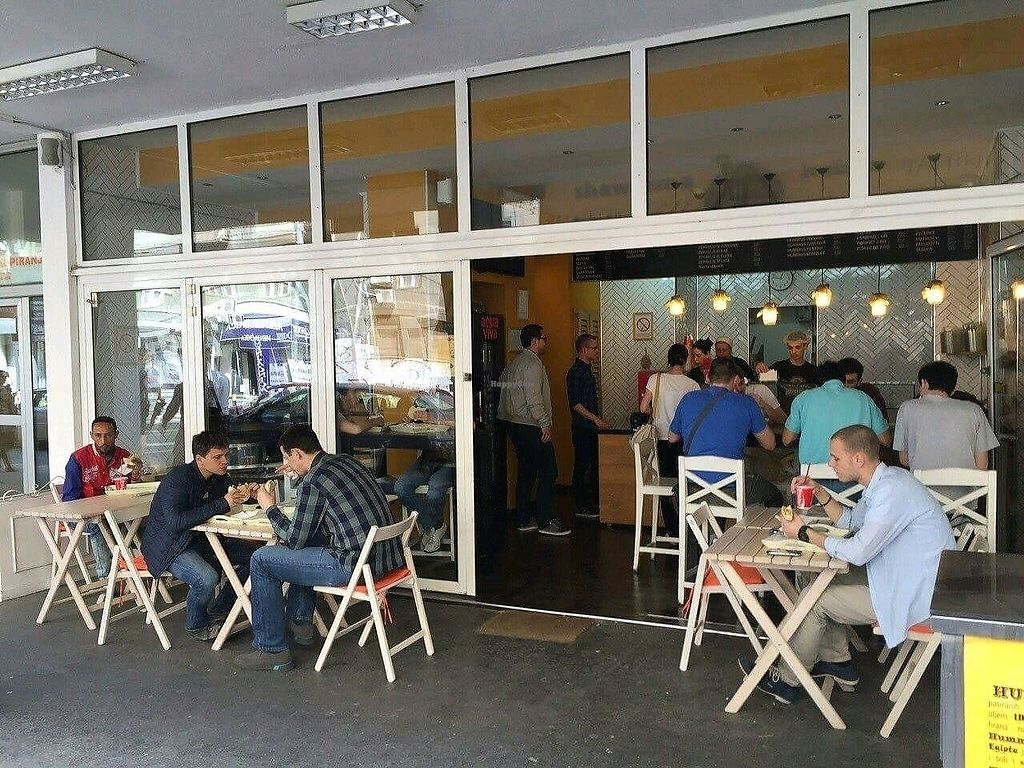 """Photo of Hummus Bar  by <a href=""""/members/profile/Meaks"""">Meaks</a> <br/>Outside <br/> September 29, 2017  - <a href='/contact/abuse/image/101953/309856'>Report</a>"""