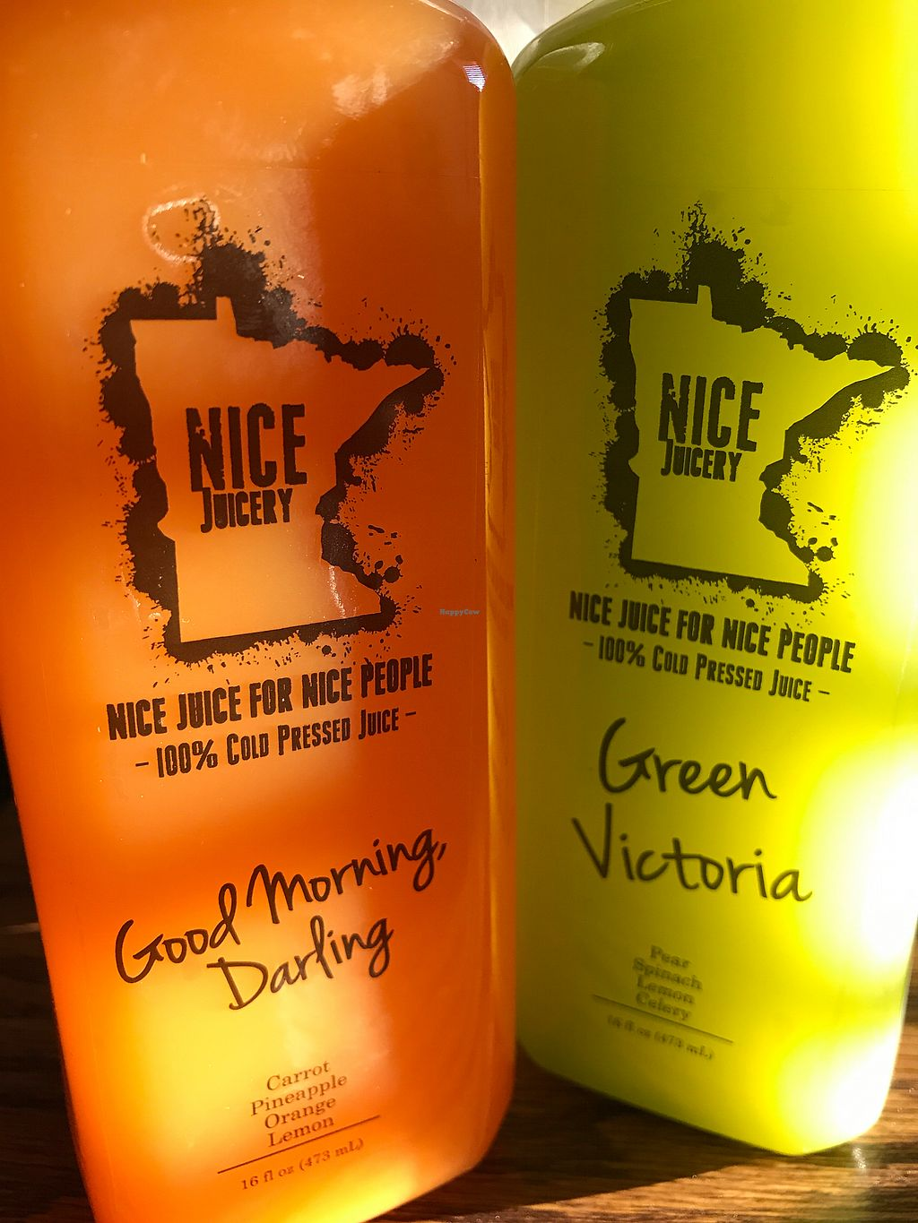 """Photo of Nice Juicery  by <a href=""""/members/profile/KatieB"""">KatieB</a> <br/>Some of their fresh Juices <br/> September 29, 2017  - <a href='/contact/abuse/image/101972/309945'>Report</a>"""