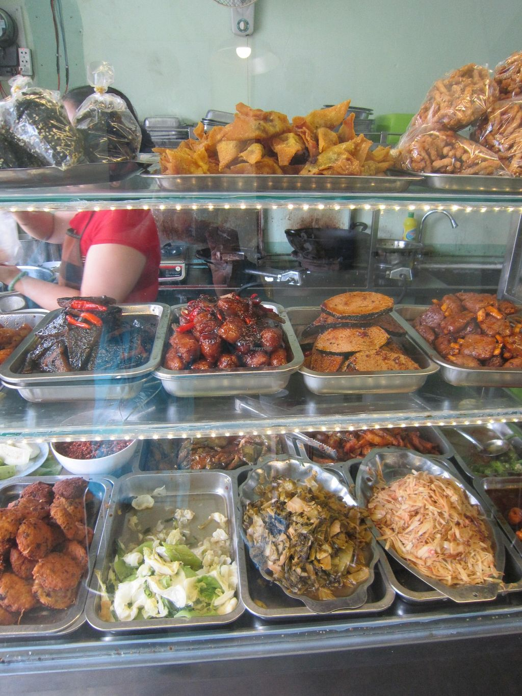 """Photo of Thanh Dam  by <a href=""""/members/profile/IanSmith"""">IanSmith</a> <br/>Some of the delicious fake meats on offer at this eatery <br/> September 24, 2015  - <a href='/contact/abuse/image/10199/118946'>Report</a>"""