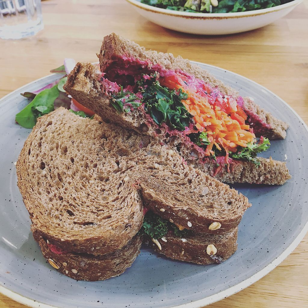 "Photo of The Bare Food Company  by <a href=""/members/profile/ClareKnighton"">ClareKnighton</a> <br/>Sandwich of destiny <br/> October 1, 2017  - <a href='/contact/abuse/image/102003/310686'>Report</a>"