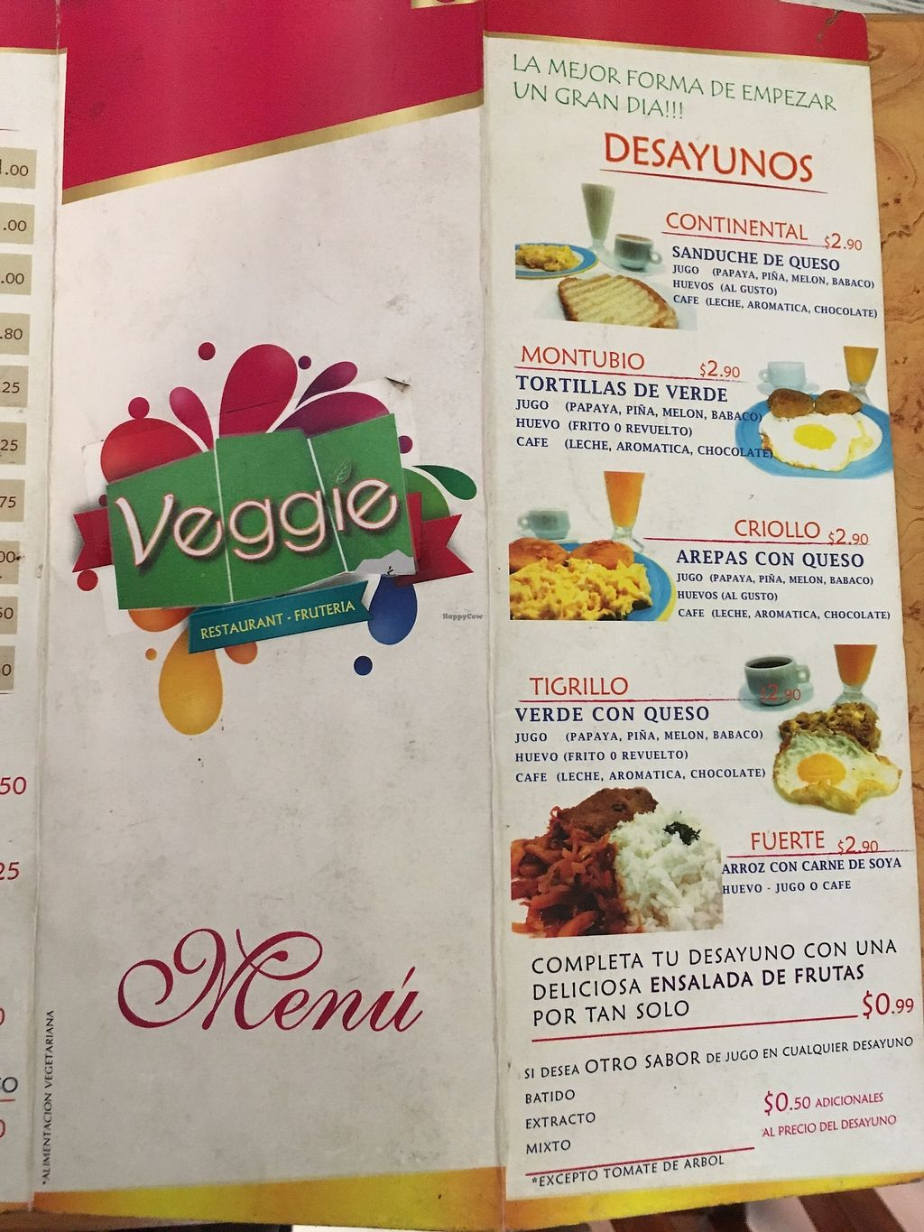 """Photo of Veggie  by <a href=""""/members/profile/peas-full"""">peas-full</a> <br/>menù  <br/> October 1, 2017  - <a href='/contact/abuse/image/102029/310355'>Report</a>"""