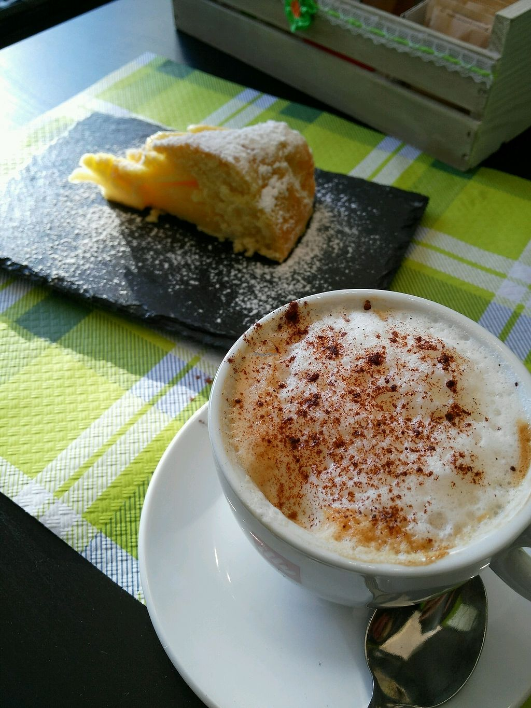 "Photo of Mi Sa di Sano  by <a href=""/members/profile/Logge"">Logge</a> <br/>cappuccino with cake <br/> October 6, 2017  - <a href='/contact/abuse/image/102034/312294'>Report</a>"