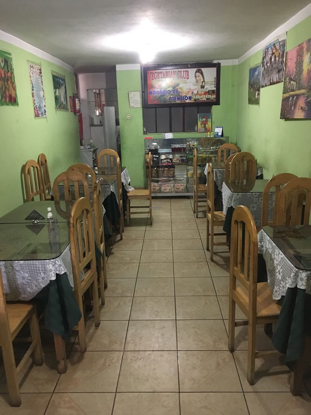 """Photo of Vegetarian Club  by <a href=""""/members/profile/peas-full"""">peas-full</a> <br/>inside <br/> October 23, 2017  - <a href='/contact/abuse/image/102045/318156'>Report</a>"""