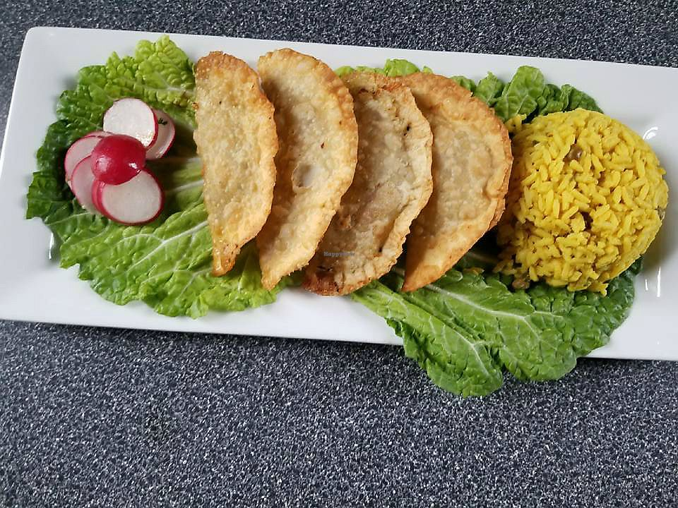 "Photo of Veggie Village and Caribbean Cuisine  by <a href=""/members/profile/LukeTrevathan"">LukeTrevathan</a> <br/>Tacos! <br/> April 9, 2018  - <a href='/contact/abuse/image/102047/383084'>Report</a>"