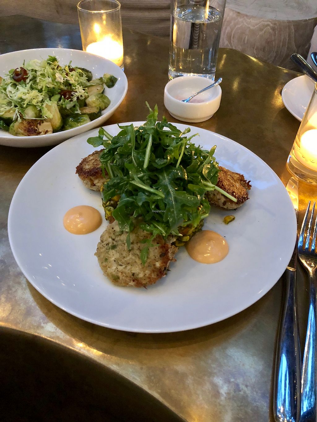 "Photo of Oliver's  by <a href=""/members/profile/Bariann"">Bariann</a> <br/>Artichoke ""Crab Cakes"" <br/> May 12, 2018  - <a href='/contact/abuse/image/102075/398895'>Report</a>"