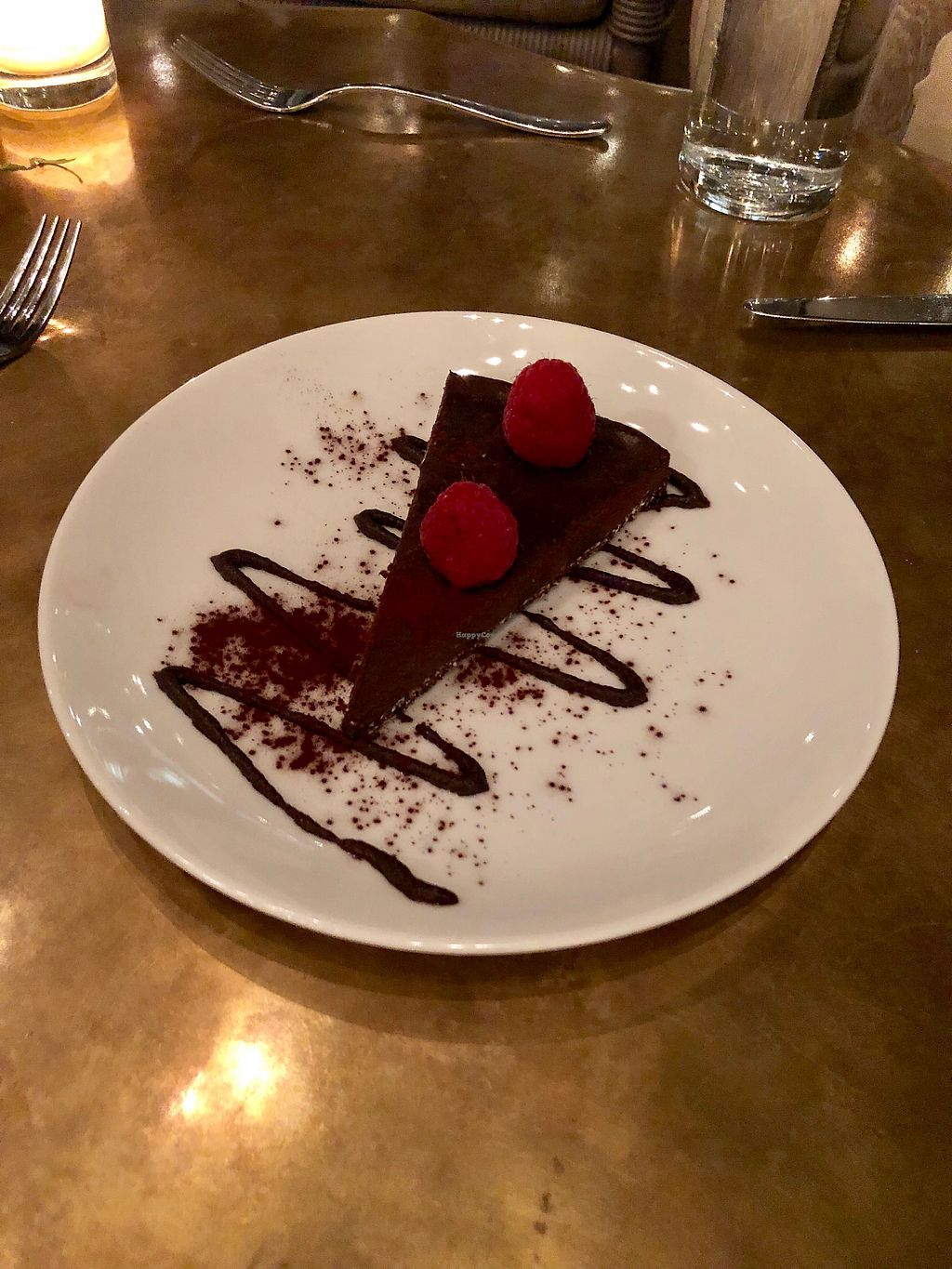 "Photo of Oliver's  by <a href=""/members/profile/Bariann"">Bariann</a> <br/>Chocolate Tart with Raspberries <br/> May 12, 2018  - <a href='/contact/abuse/image/102075/398900'>Report</a>"