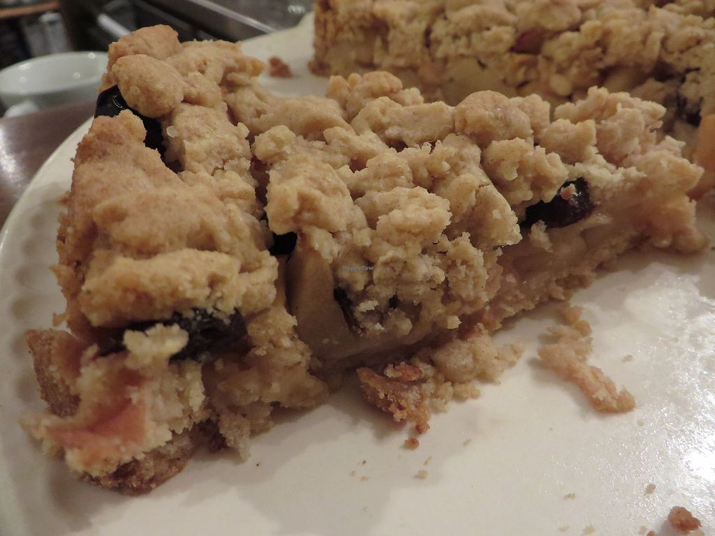 "Photo of Moccachili  by <a href=""/members/profile/VegiAnna"">VegiAnna</a> <br/>Apple streusel cake (vegan) <br/> March 3, 2018  - <a href='/contact/abuse/image/102091/366147'>Report</a>"